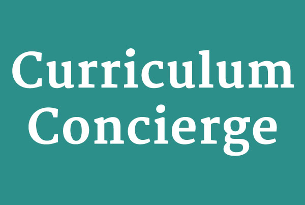 Curriculum Concierge