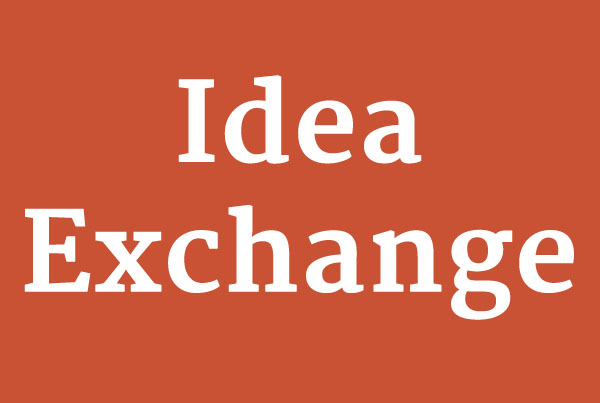 Idea Exchange Dinners
